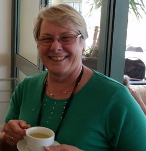 One person who will have a special interest in - but also a special responsibility for - work on the Standards is Allison Whitby. Allison is the chairperson of the ANZACPE Professional Standards Committee, and is caught here during a more relaxed moment of the Conference.