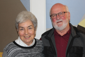 Judith Peterkin and John McAlpine