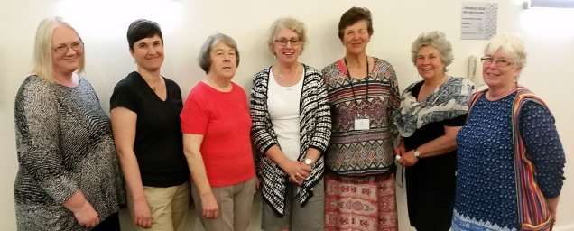 Review Committee Candidates Wendy Mckay (WA); Liz Dyson (SA); Barbara Hall (NSW); Jenni Wegener (Vic); Val Riches (NZ); Judith Dunbar (NSW); Kath McLean (NZ).